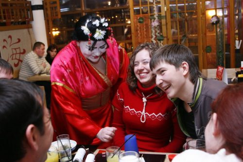 14 февраля в ресторане Якитория