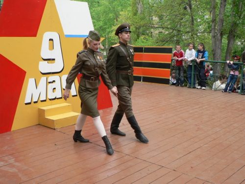 День Победы 2008 в п. Шлюзовой и Федоровка