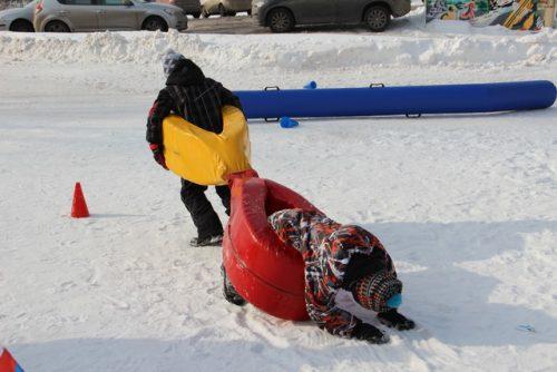 Акция Зимние игры Фольксваген