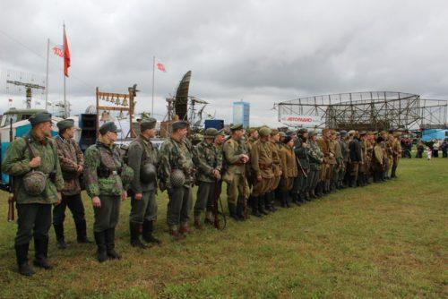 Фестиваль исторической реконструкции Россия 20 век