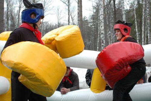 Гигантский бокс