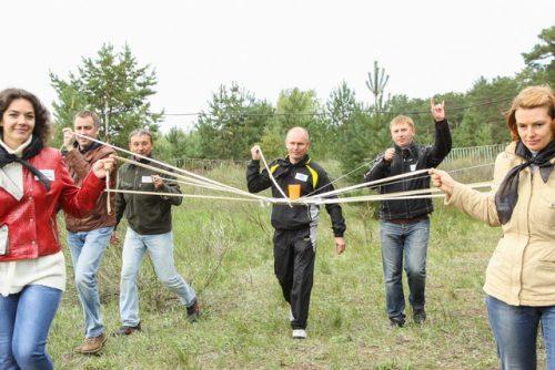 Квест-тимбилдинг Форт Боярд Полад