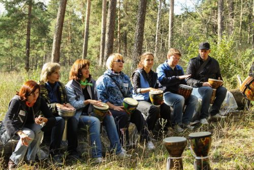 Мастер-класс игры на барабанах