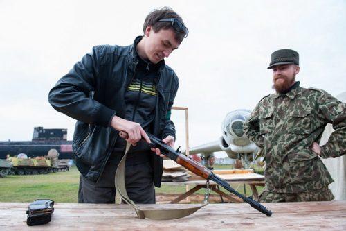 Мастер-класс по сборке-разборке АК-47