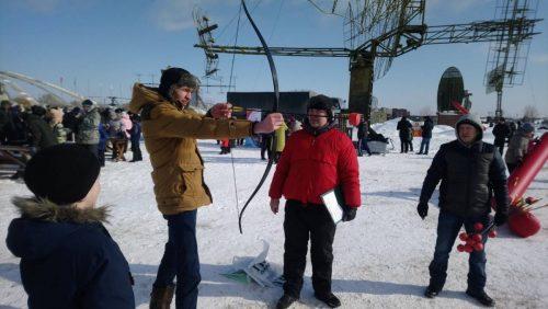 """""""Мужские игры"""" на 23 февраля"""