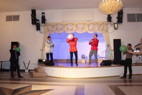 Новогодний корпоратив Шоу -Звезды РТС-Банка
