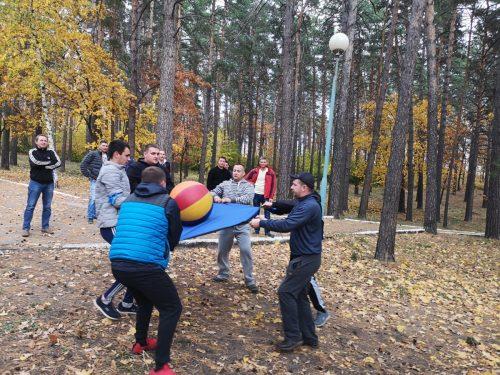 Осенний тимбилдинг Далимо