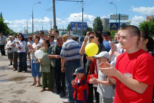 """Открытие магазина """"Суперстрой"""" в Тольятти"""
