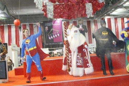 Открытие выставки Тольятти Рождественский 2007