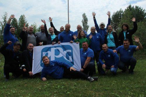 Тимбилдинг PPG Industries
