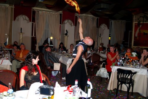 """Венецианский карнавал 2008 в ресторане """"Ля Ротонда"""""""