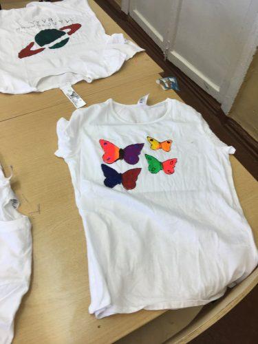 роспись футболок